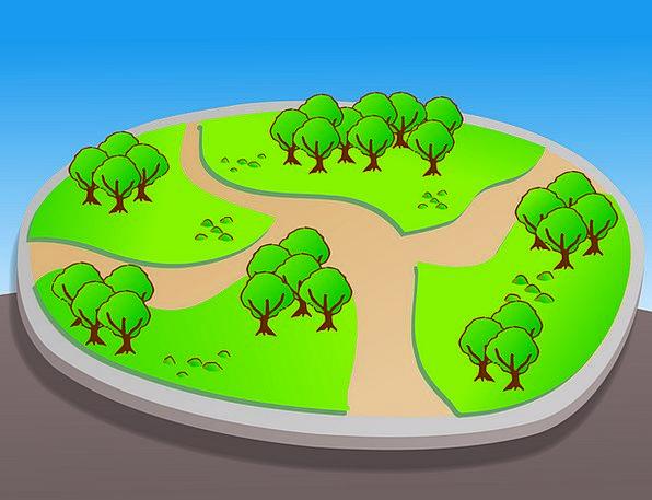 Park Common Chart Guidemap Map Fun Layout Plan Gui