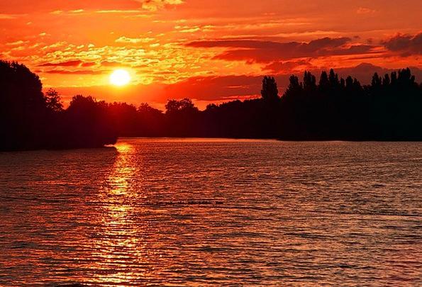 Sunset Sundown Vacation Twilight Travel See Unders