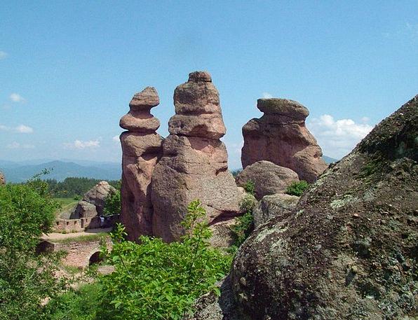Belogradchik Landscapes Pillars Nature Bulgaria Ro
