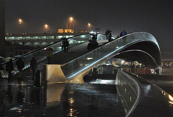 Venice Bond Channel Station Bridge Italy