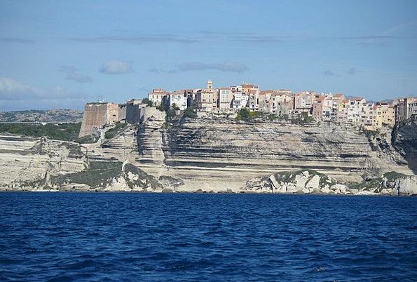 Corsica Landscapes Nature Cliff Precipice White Cl