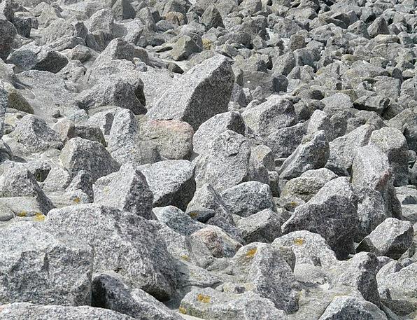 Rock Pillar Talus Granite Stonework Scree