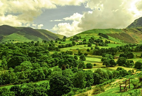 Landscape Scenery Landscapes Coil Nature Summer St