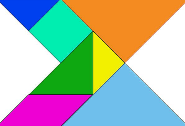 Shapes Forms Chunks Puzzles Mysteries Blocks Tiles