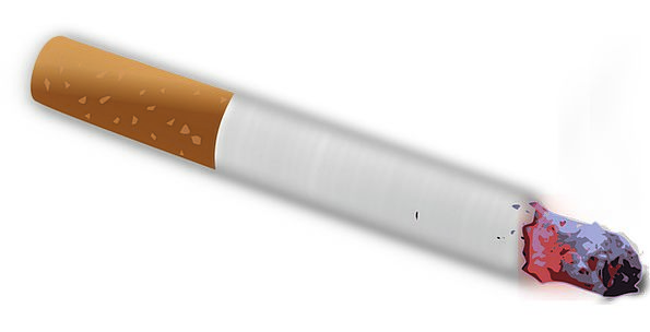 Cigarette Roll-up Smoking Burning Tobacco Toxic Ca
