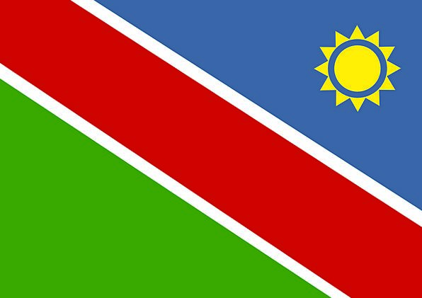 Namibia Standard National Nationwide Flag Country