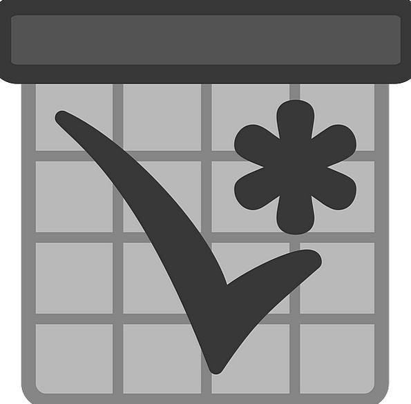 Appointment Selection Almanac Tick Impulse Calenda