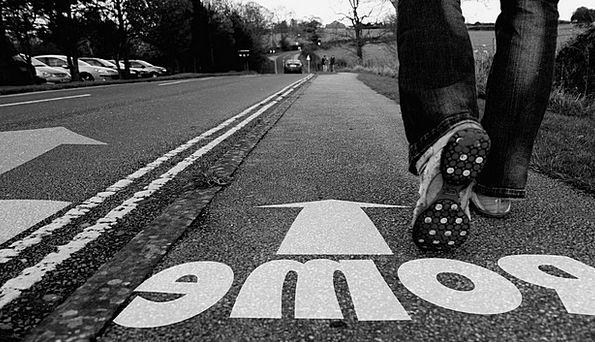 On Foot Walking Traffic Transportation Leg Limb Sh