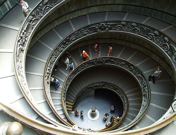 St Peter'S Basilica Buildings Stairway Architectur