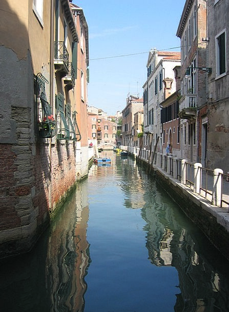 Venice Buildings Architecture Waterway Watercourse