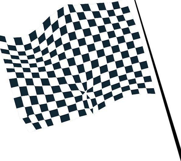Flag Standard Traffic Transportation Racing Compet