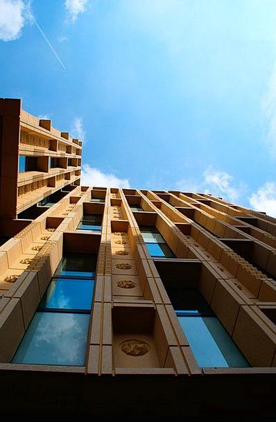Library Rosette Buildings Architecture Architectur