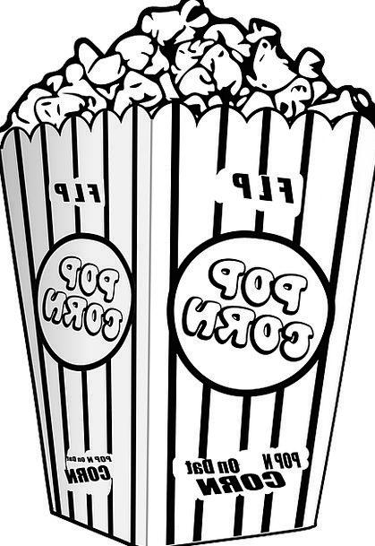 Popcorn Show Entertain Amuse Movie Film Cinema Fre