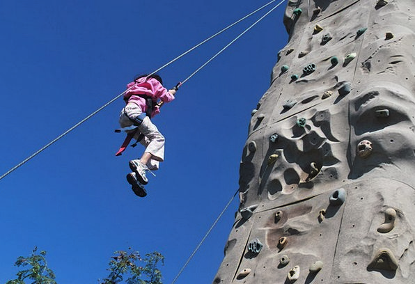 Rappelling Climbing Uphill Rappel Wall Partition R