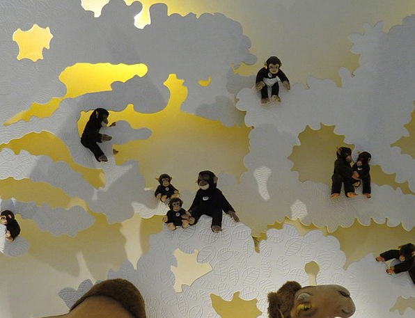 Monkey Ape Monkey Family Äffchen Toys Steiff Anima