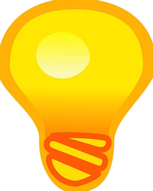 Light Bulb Stimulus Action Act Inspiration Intelli