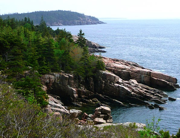 Acadia Landscapes Nationwide Nature Park Common Na