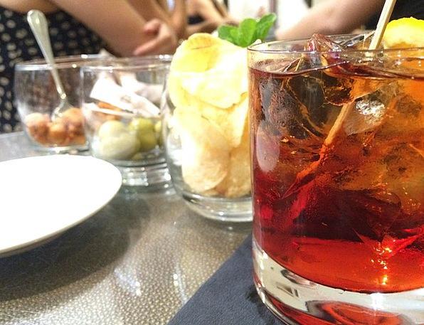 Negroni Drink Beverage Food Liquor Drink Lemon Alc
