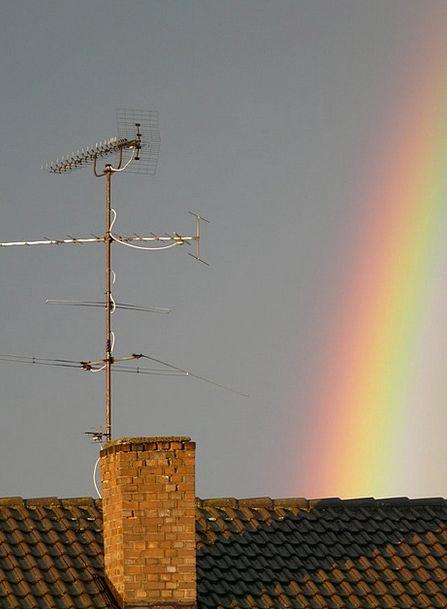 Rainbow Multicolored Landscapes Marvel Nature Rain