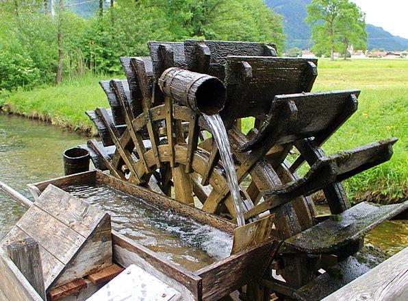 Mill Wheel Water Power Waterwheel Water Aquatic Wa