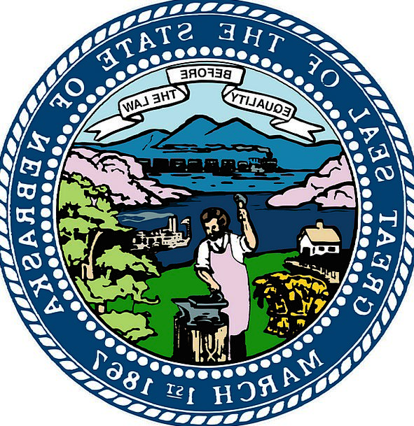 Seal Closure State National Nebraska Us Free Vecto