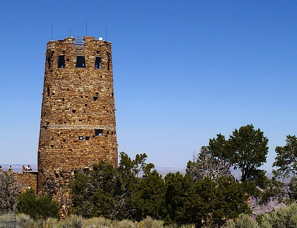 Watch Tower Buildings Pillars Architecture Stone P