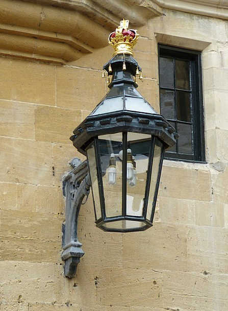 Lamp Uplighter Crown Top Lantern Middle Ages Londo