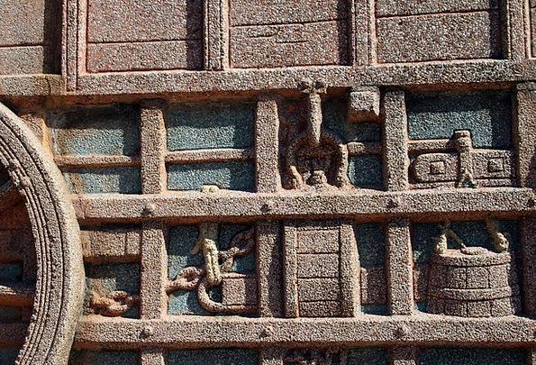 Relief Respite Stonework Depiction Representation