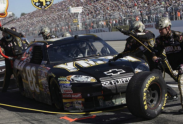 Pit Crew Traffic Transportation Tires Exhausts Nas