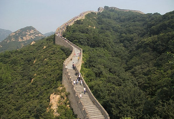 The Great Wall Landscapes Nature Mountain Crag The