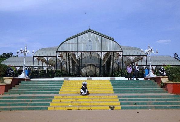 Glass House Lal Bagh Botanical Garden Bangalore Ka