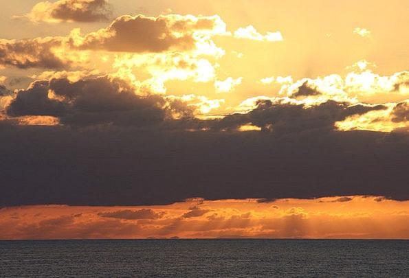Clouds Vapors Vacation Sundown Travel Evening Twil