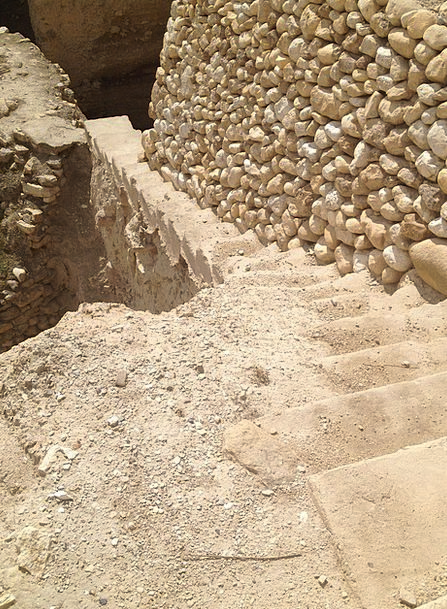 Stairs Staircases Landscapes Nature Stone Pebble J