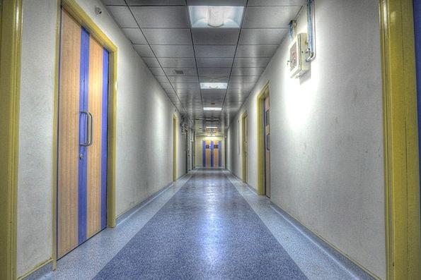 Hospital Infirmary Backstreet Aisle Alley Rooms Lo