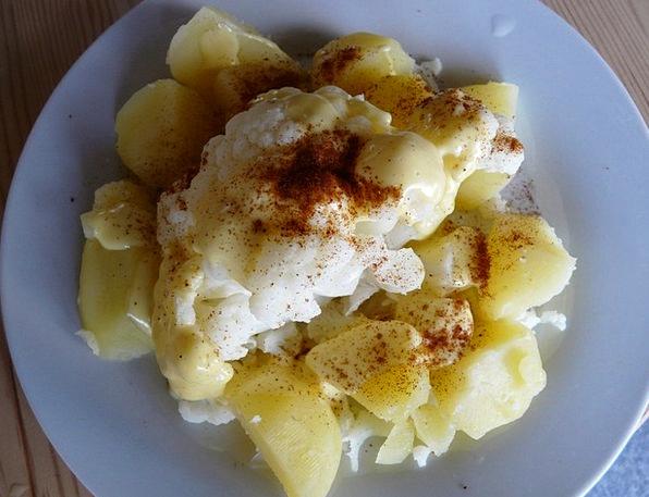 Cauliflower Drink Vegetables Food Eat Bother Potat