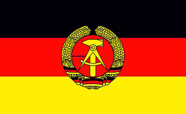 East Germany Standard Ddr Flag German Historic Imp