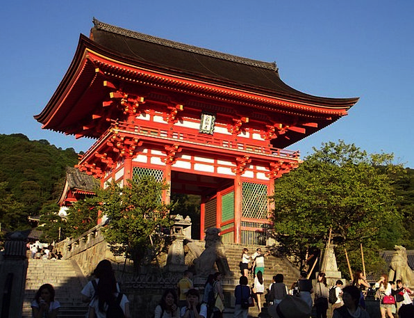 Kyoto Japan Pagoda Asia Japanese Entry Temple Shri
