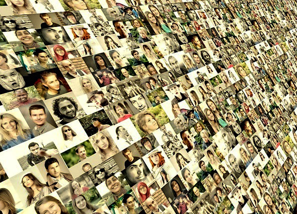 Photo Montage Communication Expressions Computer P