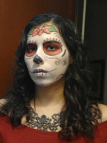 Skull Mind Mexico Day Of The Dead Death Demise Ski