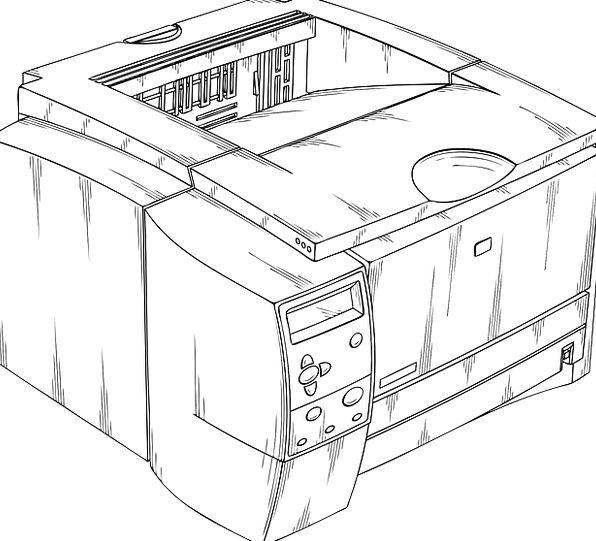 Printer Copy Reproduction Laser Inkjet Copier Dupl
