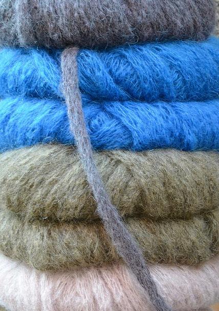 Wool Angora Join Hand Labor Knit Winter Cat'S Crad