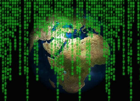 Matrix Medium Soil Global Worldwide Earth Computer