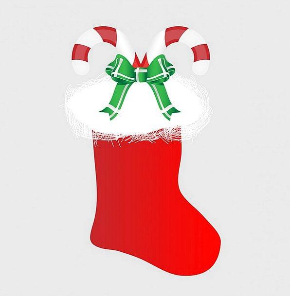 Christmas Stocking Stocking Keeping Christmas Red