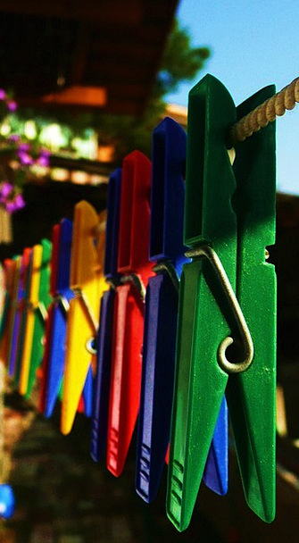 Clothespins Malleable Row Noise Plastic Peg Hangin