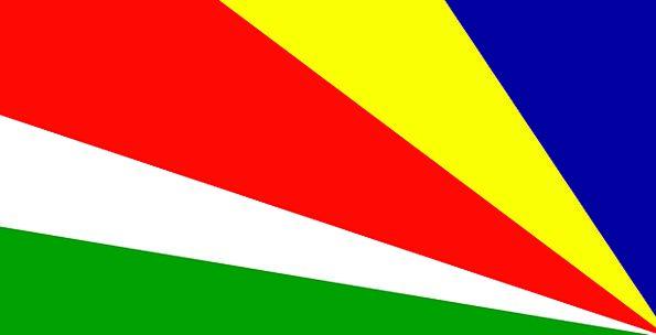 Seychelles Standard National Nationwide Flag Repub