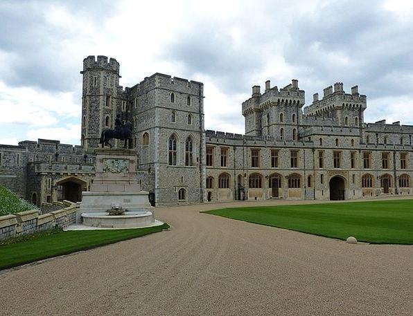 Windsor Buildings Architecture Castle Windsor Cast