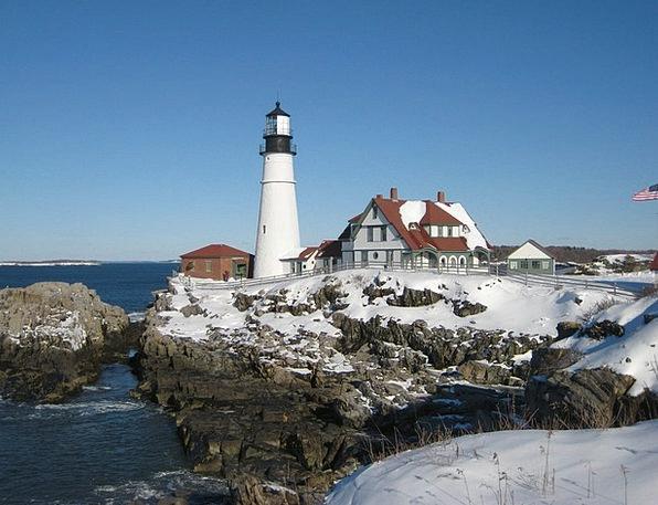 Lighthouse Vacation Travel Coastline Shoreline Mai