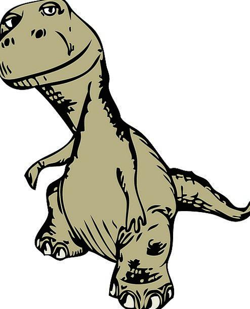 Tyrannosaurus Relic Extinct Nonexistent Dinosaur E