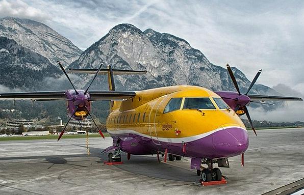 Innsbruck Traffic Transportation Airport Airfield