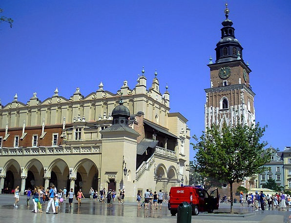 Poland Buildings Architecture The Old Town Kraków
